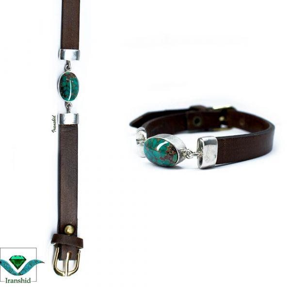 دستبند چرمی مردانه DL7