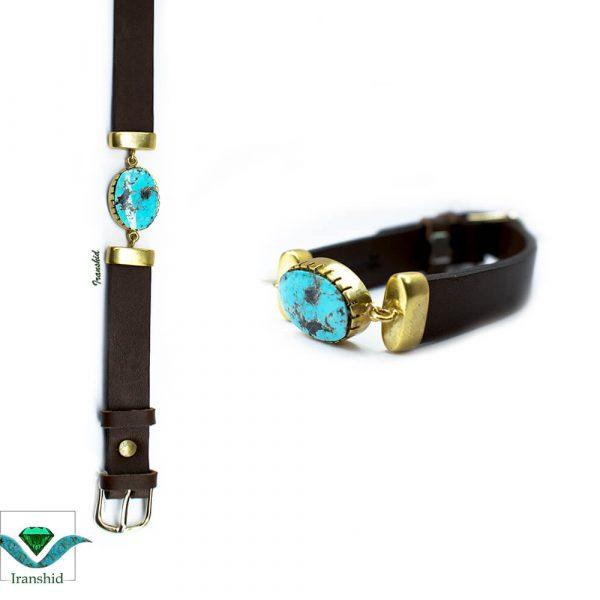 دستبند چرمی مردانه مدل DL8