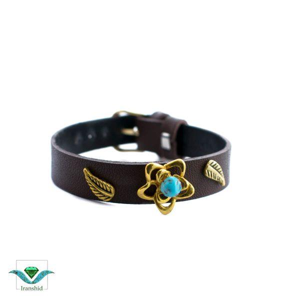 دستبند چرمی مدل dl14