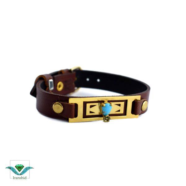 دستبند چرمی مدل dl15