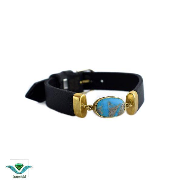 دستبند چرمی مدل dl16