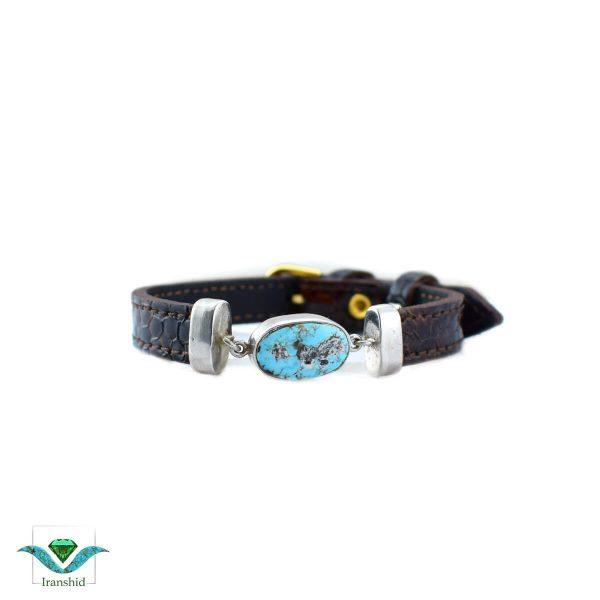 دستبند چرمی مدل dl2