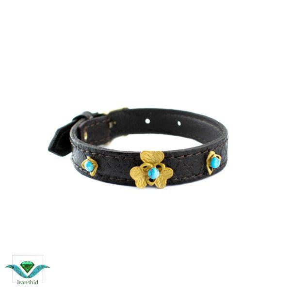 دستبند چرمی مدل dl6
